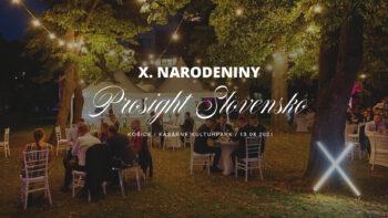 X. Narodeniny PROSIGHT Slovensko